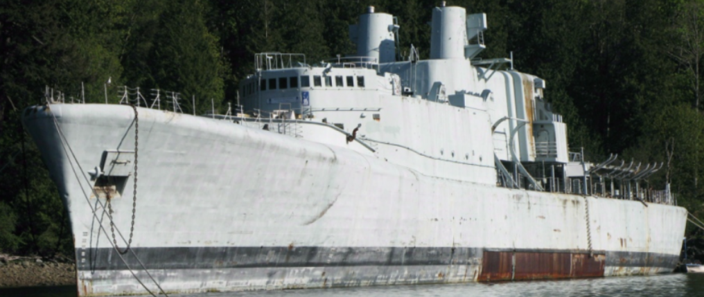 HMCS Annapolis Artificial Reef | Gambier Island, Vancouver B.C.